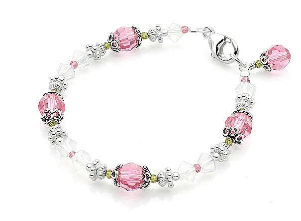 Inspiration, Flowers & Decor, Jewelry, white, pink, green, silver, Bracelets, Flower, Girl, Gift, Unique, Board, Bracelet, Jewellery, Adorable, Andrewgraysoncom