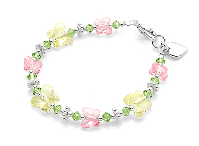 Inspiration, Flowers & Decor, Jewelry, white, yellow, pink, green, silver, Bracelets, Flower, Girl, Gift, Unique, Board, Bracelet, Jewellery, Adorable, Andrewgraysoncom