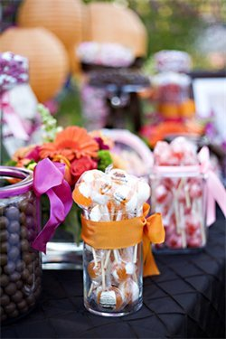 Reception, Flowers & Decor, Candy, Station