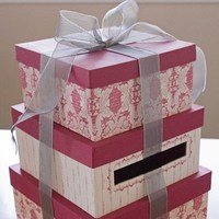 pink, Box, Card
