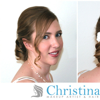 Beauty, Down, Short Hair, Hair, Up, Half, Short, Curls, Christina yi professional makeup hair services