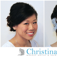 Beauty, Chignon, Updo, Hair, Curls, Christina yi professional makeup hair services