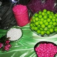 Reception, Flowers & Decor, pink, green, Wedding, Candy, Buffet, Buffets, Sweet i dos