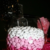 Reception, Flowers & Decor, white, pink, black, Wedding, Candy, Buffet, Buffets, Sweet i dos