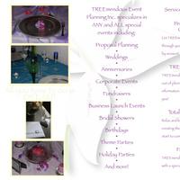 Ceremony, Reception, Flowers & Decor, white, yellow, pink, purple, Treemendous event planning