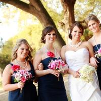 Bridesmaids, Bridesmaids Dresses, Wedding Dresses, Fashion, white, blue, dress, Classic, Pearls, Strapless, Strapless Wedding Dresses, Jcrew, Navy, Classic Wedding Dresses