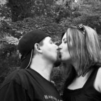 Photography, white, black, Kiss, Engagement, Stooksbury photography