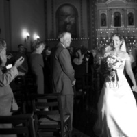 Ceremony, Flowers & Decor, white, black, Church, And, Bw, Leaving, Capture the love