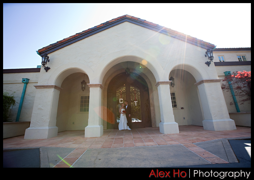 Bride, Groom, Gate, Club, Front, Country, Doors, Orinda, Orinda country club