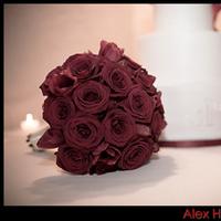 Flowers & Decor, Cakes, pink, red, cake, Bride Bouquets, Flowers, Bouquet, Wedding, Alex ho photography