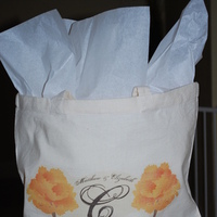 Favors & Gifts, white, yellow, orange, pink, red, purple, blue, green, brown, black, silver, gold, favor, Gift, Bridesmaid, Tiffany, Tote