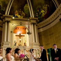 Ceremony, Flowers & Decor, pink, green, Bobbi roth wedding design