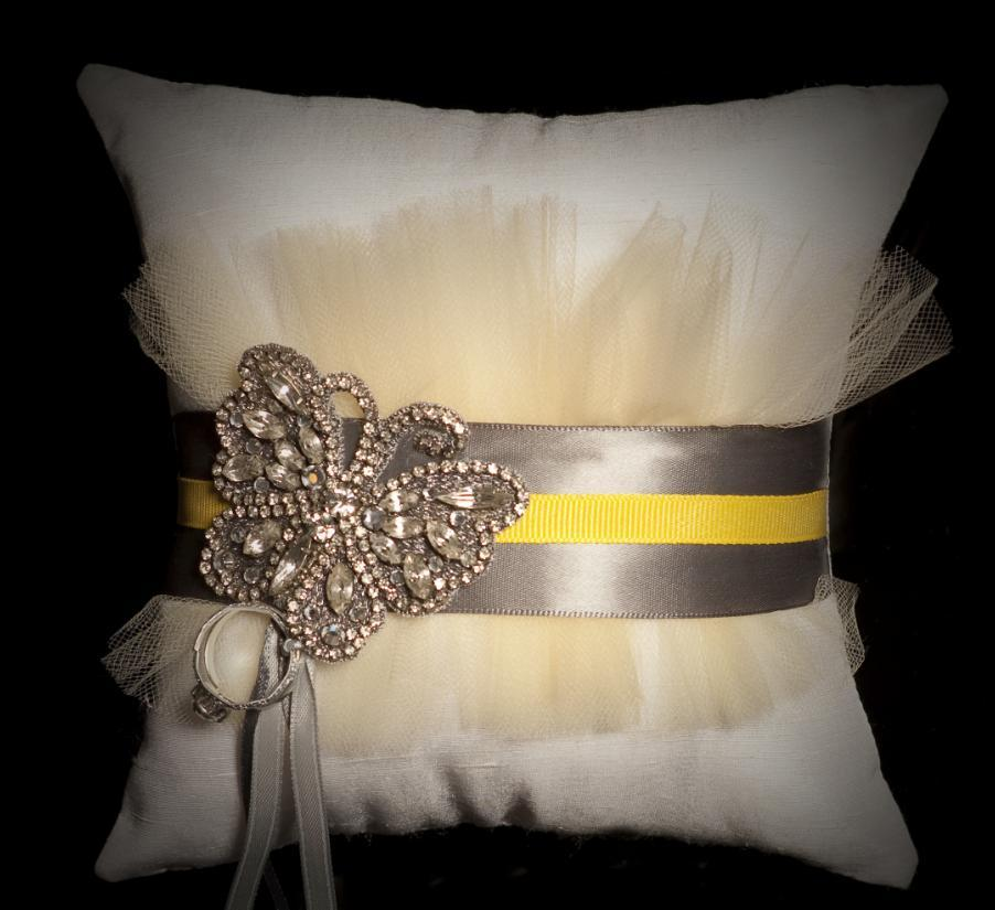 Ceremony, Reception, Flowers & Decor, white, yellow, orange, pink, purple, blue, green, brown, black, silver, gold, Wedding, Custom, Ring, Bridal, Hand, Pillow, Bearer, Accessory, Made, Silk, Dupioni, Keepsake, Jessecianicom