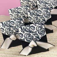 Reception, Flowers & Decor, Favors & Gifts, white, black, favor, Boxes