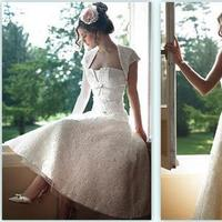 Wedding Dresses, Fashion, dress, Tea, Length, Tea Length Wedding Dresses