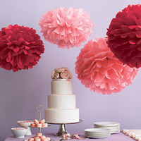 DIY, Reception, Flowers & Decor, pink, red