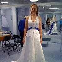 Wedding Dresses, Fashion, white, pink, blue, dress