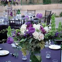 Flowers & Decor, purple, green, Centerpieces, Flowers, Centerpiece