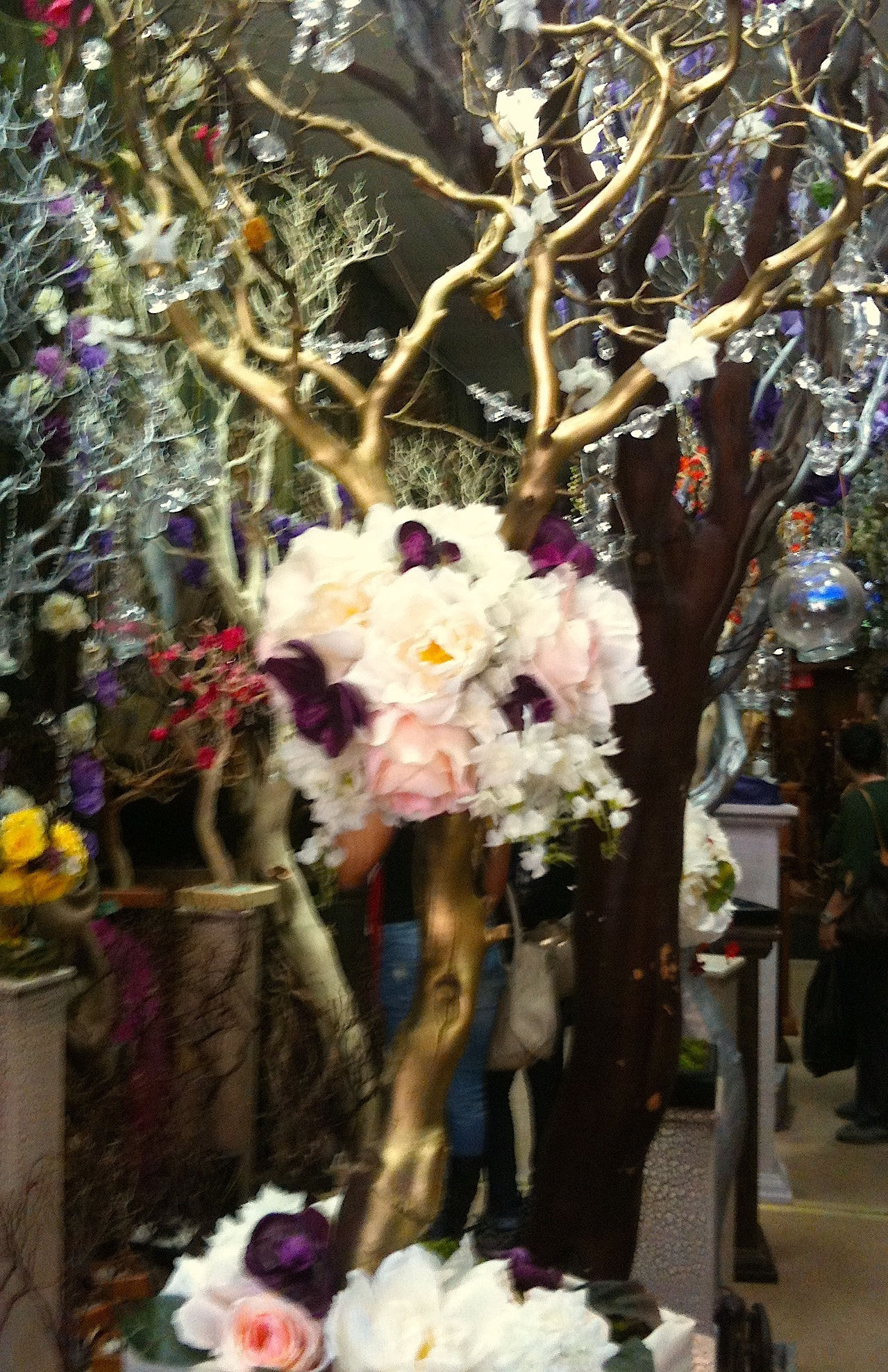 Reception, Flowers & Decor, Centerpieces, Centerpiece, Tree, Manzanita