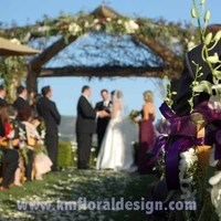 Ceremony, Flowers & Decor, Decor, white, purple, green, Ceremony Flowers, Aisle Decor, Flowers, Aisle, Setting