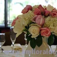 Flowers & Decor, white, ivory, pink, Centerpieces, Flowers, Centerpiece, Jewels