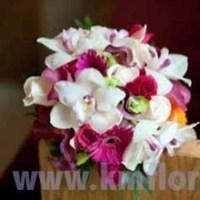 Flowers & Decor, white, pink, green, Bride Bouquets, Flowers, Roses, Accents, Bouquet, Orchids