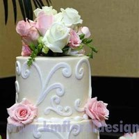 Flowers & Decor, Cakes, white, pink, cake, Flowers