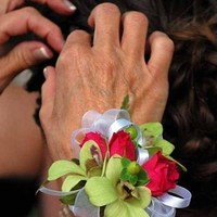 Flowers & Decor, pink, green, Corsages, Flowers, Corsage, Wrist