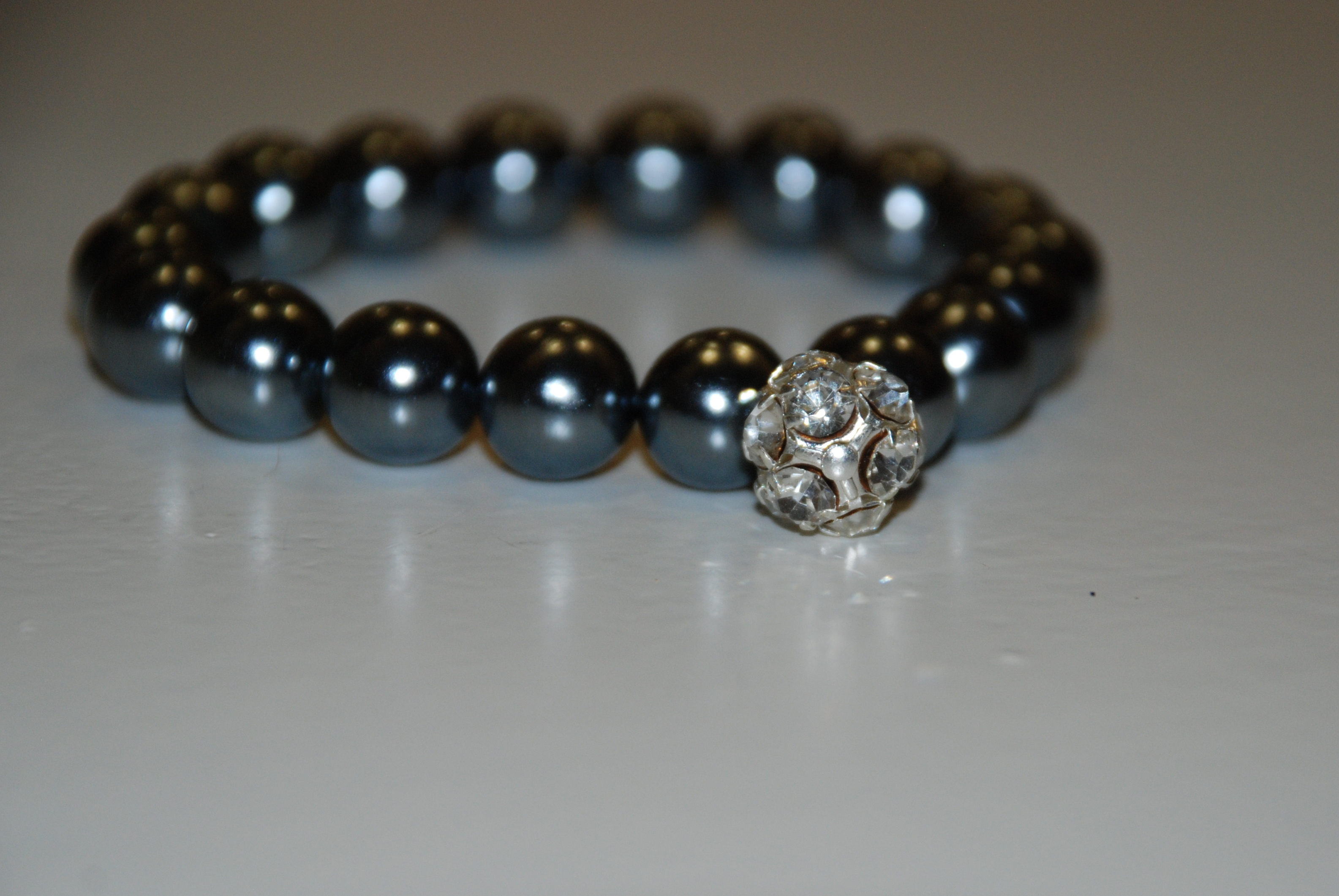 DIY, Jewelry, silver, Bracelets, Grey, Bracelet, Pearl, Bridesmaid gift