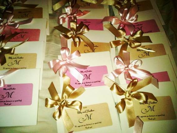 Favors & Gifts, pink, Favors, Cd, Done