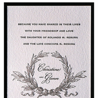 Reception, white, Ceremony, Invitations, black, Inspiration, Board, Flowers & Decor, Stationery