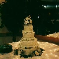 Inspiration, Reception, Flowers & Decor, Cakes, white, yellow, red, cake, Flowers, Board