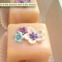 Inspiration, Reception, Flowers & Decor, Cakes, white, pink, purple, blue, cake, Flowers, Board