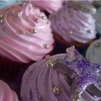 Inspiration, Reception, Flowers & Decor, Cakes, pink, purple, blue, silver, cake, Board