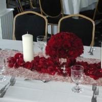 Ceremony, Inspiration, Reception, Flowers & Decor, white, red, Ceremony Flowers, Flowers, Board