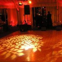 Reception, Flowers & Decor, Lighting, Dance, Gobo, Floor, Leaves