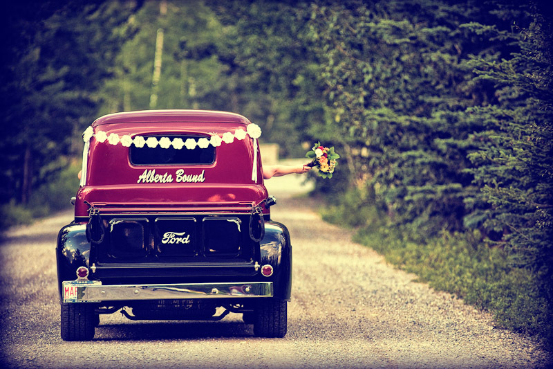 Destinations, yellow, orange, red, North America, Vintage, Wedding, Car, Canada, Same, Sex, Dawn lori