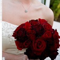 Ceremony, Inspiration, Reception, Flowers & Decor, white, red, black, Ceremony Flowers, Flowers, Board