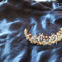 Jewelry, red, Tiaras, Tiara