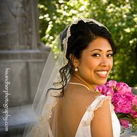 Beauty, Flowers & Decor, Wedding Dresses, Fashion, pink, dress, Flowers, Hair, Bobbi roth wedding design, Flower Wedding Dresses