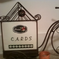 Reception, Flowers & Decor, white, yellow, orange, red, green, black, Vintage, Cards, Cardbox, Motorcycle, Bicycle