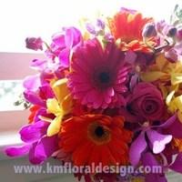 Flowers & Decor, yellow, orange, pink, purple, Bride Bouquets, Flowers, Bouquet, Bridal, Colorful