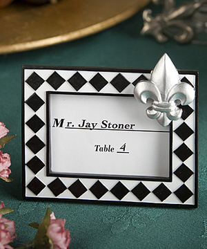 Reception, Flowers & Decor, white, black, Placecard, De, Card, Place, Holder, Holders, Lis, Frames, Fleur
