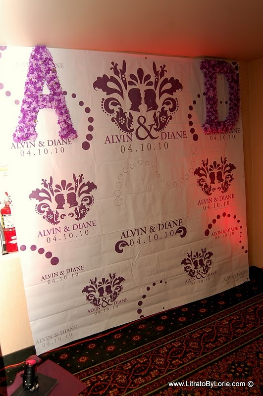 Reception, Flowers & Decor, purple, Photobooth