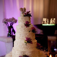 Cakes, purple, cake, Wedding