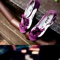 Shoes, Fashion, purple