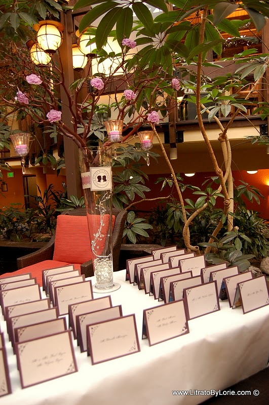 Reception, Flowers & Decor, purple, Table, Registration