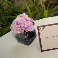 Reception, Flowers & Decor, Cards, Escort