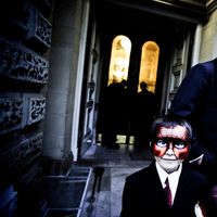 red, black, Ringbearer, Masquerade