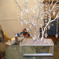 Reception, Flowers & Decor, silver, Centerpieces, Centerpiece, Manzanita, Mirror, Recpetion